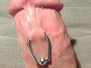 """My first piercing-when I went in to get this, my poor dick looked to be only 1"""" long. I think he was trying hide by shrinking.lol Hey see how you act when Candy-a HOT 25yo babe-holdin clamps and a hollow needle says whip it out.Id luv to taste Candy! Yum"""