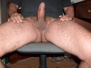 Doggy style is perfect for maximum penetration... i am waiting, my bottom is up, my pussy stretches from desire... you tease the entrance of my hot tunnel with the tip of your cock... do i make you horny? I want to feel your hard dick sliding deep in me, till your balls hit my pussy lips...
