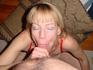 looks wonderful and I would love to have my cock in your mouth