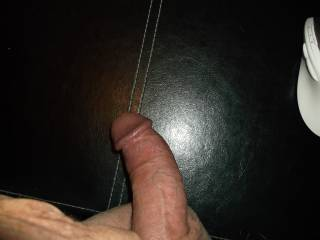 Good looking cock.  Would enjoy giving you a hand with it.