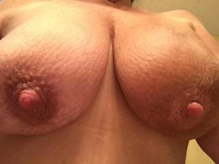 Is it me or do those big nipples need to be sucked on?