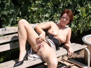Love playing outdoors, the view of your gorgeous body showing off in such an erotic fashion is more than amazing!