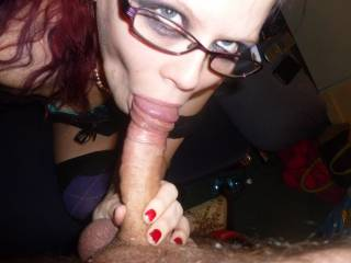 She would looooove to have to taste the cocks and cum of other males. I think she deserve that chance. She's a very needy woman.