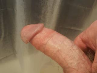 Ready to fuck you from behind in the shower