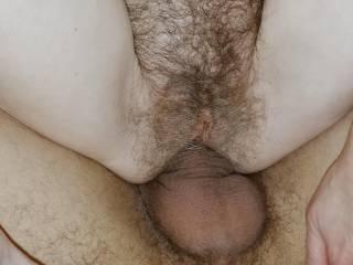 balls deep in her wet hole