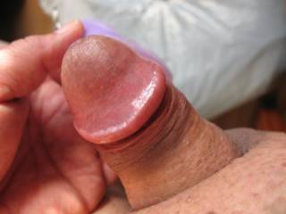 Using a clit vibrator to get my little guy to get up.  I think that it\'s working!