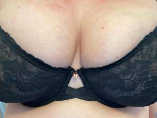 Wifes new see through bra 😍