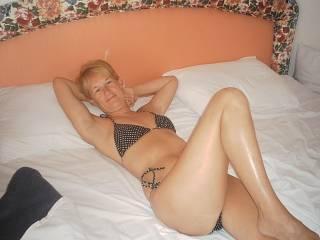 start of bikini strip