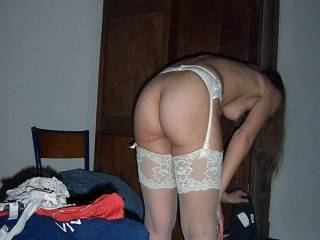 I would love to see her ass red from a spanking.
