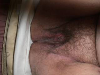 Perfect position! I'd love to slip my cock inside of you and cum like there's no tomorrow!