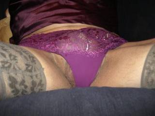 You look great in lingerie!! Would love to stroke your panties,feel you stiffen.....................!!