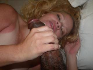 Wow what a beautiful thing cock sucker