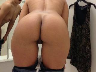 OMG what a fine ass!!! Love to do a cum tribute to this picture and shoot a big creamy white load of cum all over your sweet sexy ass & pussy!!!!!!!