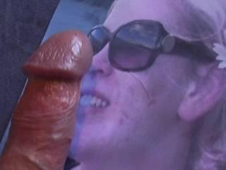 oh sweet cum face