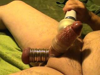 Orgasm with hand