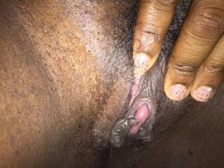 Mmmmmm feed me that big, throbbing clit and wet, pink pussy so I can go to work licking and eating you until you cum on my face...deal?!?