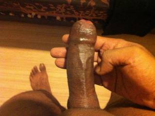 another pic of my uncut penis.