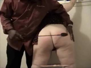 Another short clip of what I like to do to big booty white girls that love to submit to Me. This girl does not belong to Me just likes to be used by Me from time to time. She was even willing to be a gangbang girl at a party of Mine.