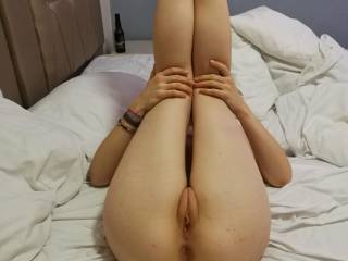 great pussy. and a lovely ass.