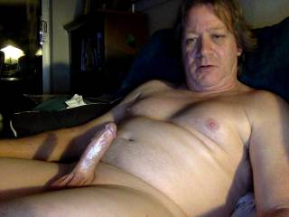 Me fully exposed showing my skinny shaved dick