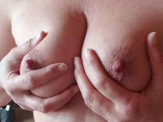 I love my boobs, and my nipples are supersensitive