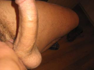 I'd like to wrap my lips around your hot dick and balls!