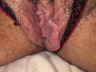 wifes big wet pussy