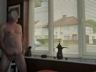 Having a wank and watching the world go by