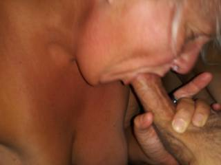 I love the way she worships my Throbbing Rockhard Cock