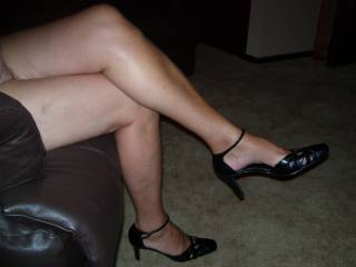 Silky smooth legs that go all the way up to heaven.
