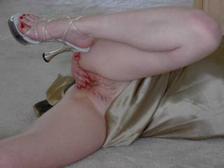 Mmmmm OMG ... You are just one tasty mouth watering lady.. I would enjoy using my pierced tongue on your ass and clit
