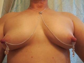 I could feel those between my teeth now! Those nips are so fucking hot and hard!