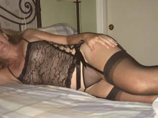 Sexy lingerie - looking forward to a hard pounding