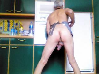 Naughty mature male maid