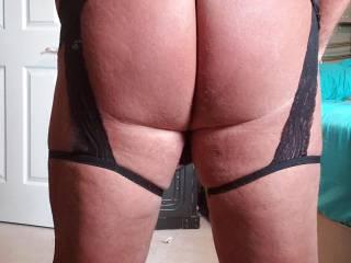 Rear shot of my new panties