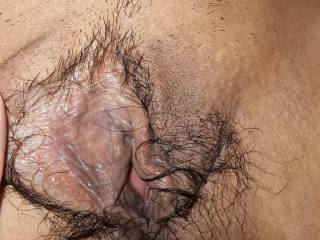 After squirting on big dildo