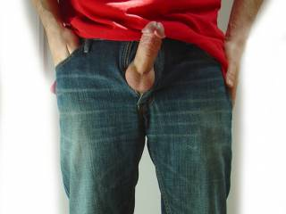 Sometimes it's hard to keep my cock in my pants.