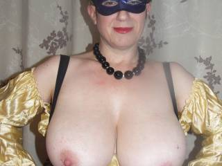 Wow that is so sexy babe!  Fantastic tits. I would love to slide my cock in between them