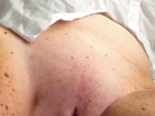 Laying on the chair showing you my well fucked pussy. Who wants to lick me and fuck me?