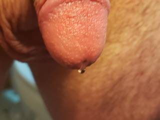 Dripping precum and raw from hot wax.