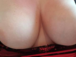 Will you wank over these and squeeze them?