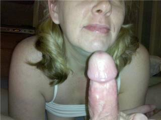 Excellent and such fun.  I could eat your pussy of suck, nibble, your tits while you work on it.