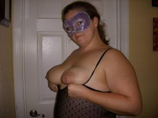 I would suck on those beautiful titties all night long.