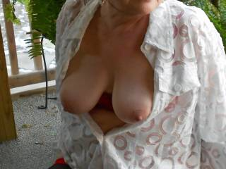 love to suck those beautiful tits while i finger your ass and pussy!!!!!!!!