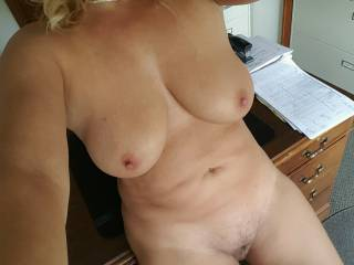 I know its only afternoon but does Anyone want  to fuck on my desk?