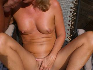 hi this is linda  love to  play on you deck some time  we'rr in n/w pa