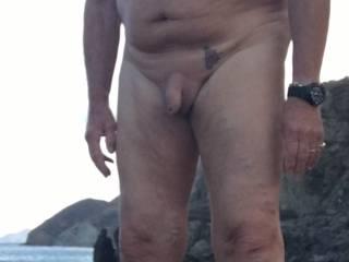 Nice nude beach, any one like to join me