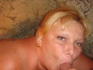 Can you tell in my eyes how much I love sucking cocks ?