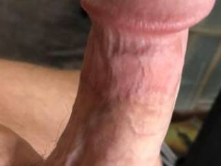 Rock hard and ready for duty! Suck it, fuck it, I'll be your wanton sex slave/stunt cock, anything you desire!!
