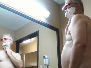 Morning shaving